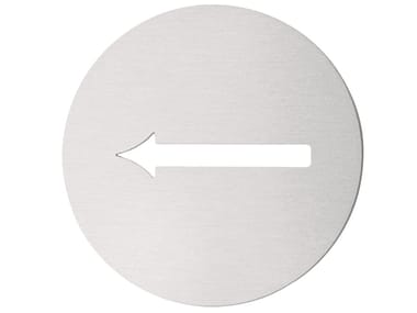 Stainless steel sign BASIC | Sign