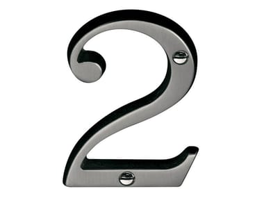 Metal house number TIMELESS | House number