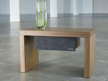 Rectangular bedside table 323-NT | Bedside table