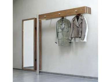 Wall-mounted wooden coat rack 591 | Coat rack