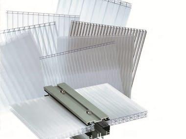 Polycarbonate sheet CARBOPIU' MULTIWALL