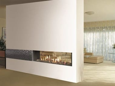 Download the catalogue and request prices of Portofino | double-sided fireplace insert By italkero