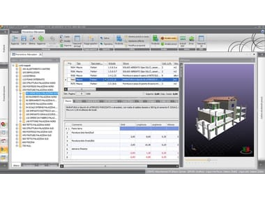 Calculation-CAD Integrated Software STR VISION BIM