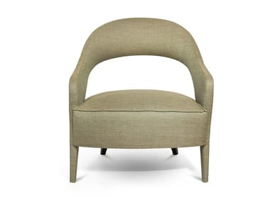 Fabric easy chair with armrests TELLUS | Easy chair