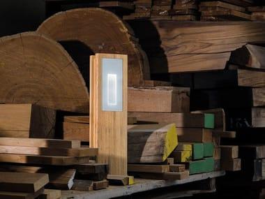 Illuminazione per esterni in legno lombardo archiproducts