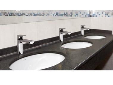 Vasque sous plan en céramique EVANA | Vasque sous plan