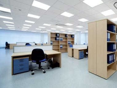 Sound absorbing ceiling tiles STAR TONE SANDED MICRO