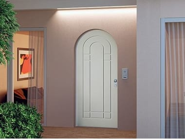 Safety door with electronic lock OPENTECH By DiBi Porte Blindate