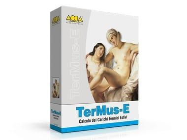 Calcolo impianto di condizionamento estivo TerMus-E