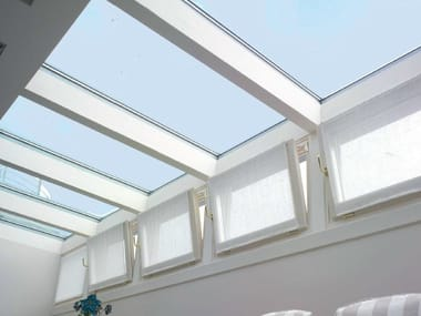 Continuous rooflight Glass rooflight