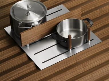 Stainless steel drawers divider B3 INTERIOR SYSTEM | Drawers divider