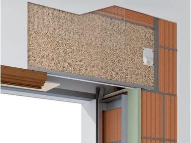 Box for roller shutter CASSONETTO DF TERMOACUSTICO ISOLANTE