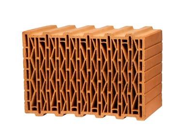 Thermal insulating clay block UNIPOR W08 PLANZIEGEL