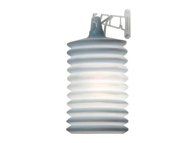 Silicone wall lamp LAMPION W1