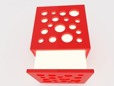 Lampada da parete a LED a luce diretta e indiretta CUBE | Lampada da parete