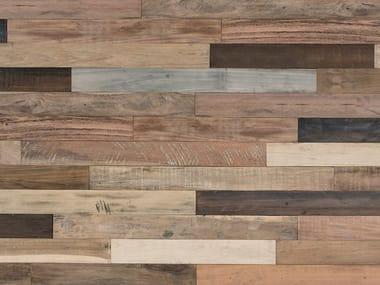 Indoor wooden 3D Wall Cladding BRIDGES