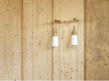 Direct light wooden wall lamp SLOPE | Wall lamp