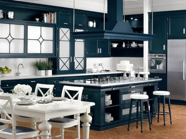 american kitchen style. American style lacquered solid wood kitchen PARK AVENUE Style Kitchens  Archiproducts