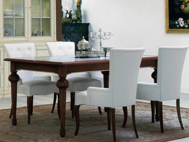 Venetian style solid wood dining table LE STANZE DEL DOGE | Dining table