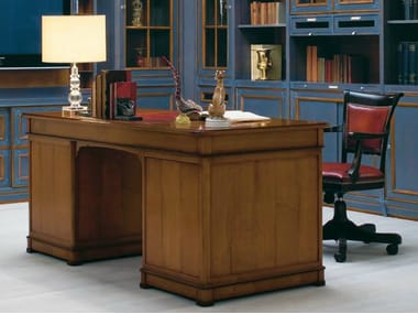 Venetian style solid wood secretary desk LE STANZE DEL DOGE | Secretary desk