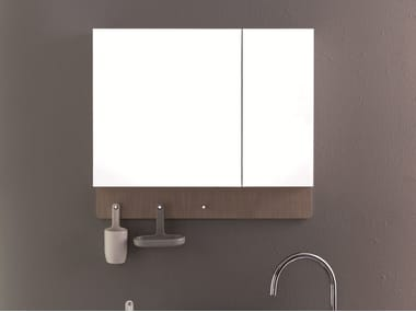 Bathroom mirror with cabinet UKIYO-E | Mirror