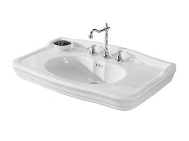 Lavandini Da Bagno Da Appoggio : Impero lavabo da appoggio by olympia ceramica