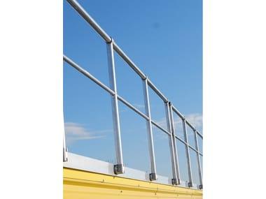 Aluminium balustrade ALUSAFE