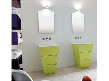 Mobile lavabo con cassetti LIBECCIO 10