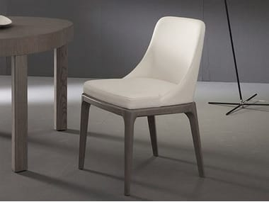 Ergonomic upholstered restaurant chair MARGOT | Chair