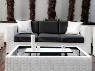 3 Seater Resin Sofa BAHIA | 3 Seater Sofa