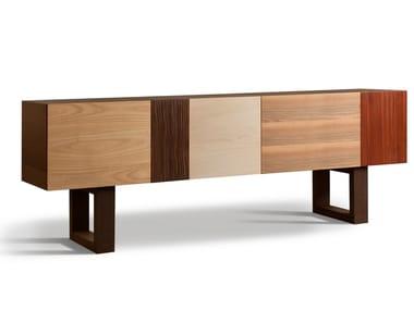 Wooden sideboard with doors BIG JOHN | Sideboard