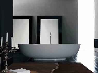 Freestanding Mineralmarmo® bathtub NEST | Bathtub