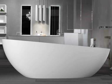 Oval bathtub SMOOTH 1