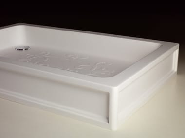 Anti-slip acrylic shower tray ARABESQUE
