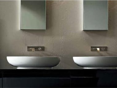 Countertop oval washbasin NEST | Washbasin