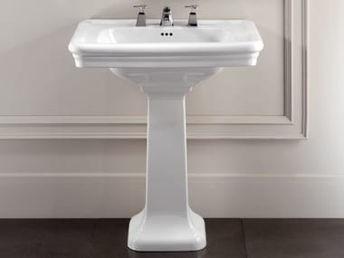 Pedestal washbasin ETOILE | Washbasin