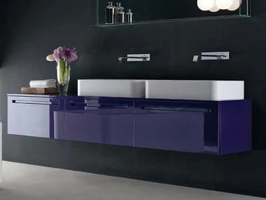Countertop rectangular washbasin FLY | Washbasin