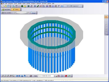 Retaining wall calculation PAC 3D