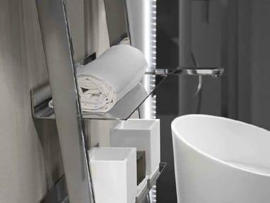 Column stainless steel bathroom cabinet CLEAN | Stainless steel bathroom cabinet