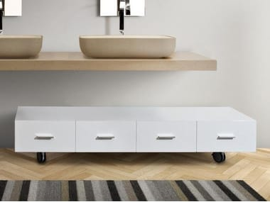 Mobili bagno con ruote archiproducts