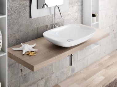 Oak washbasin countertop MARIPOSA 51