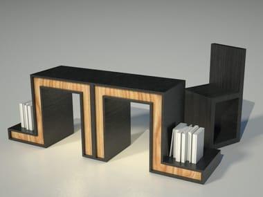 Tavolo da salotto rettangolare su misura ORTHOS | Tavolo