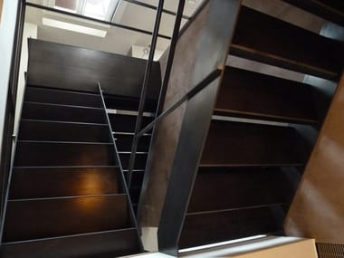 Iron Open staircase Iron Open staircase