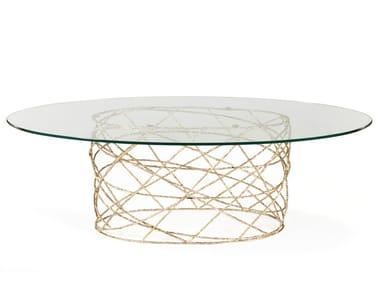 Tavoli ovali in vetro | Archiproducts