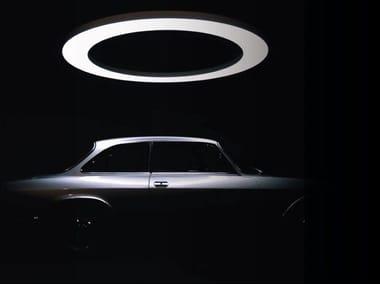 LED aluminium pendant lamp ANELLO