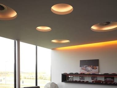 Indirect light recessed ceiling lamp USO 100 50 COVE LIGHTING