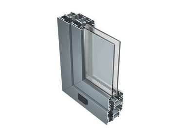 Aluminium thermal break window 50 IW