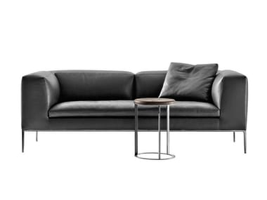 michel leather sofa by b b italia design antonio citterio. Black Bedroom Furniture Sets. Home Design Ideas