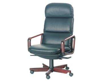 Cadeira executiva de 5 raios 8497W | Cadeira executiva