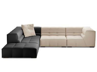 Corner sectional fabric sofa TUFTY-TOO | Corner sofa